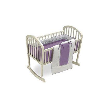 """Duron Cradle Bedding Set Color: Lavender, Size: 15"""" W x 33"""" L"""