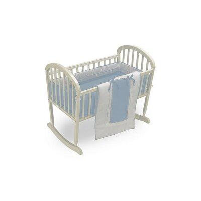 """Duron Cradle Bedding Set Color: Light Blue, Size: 18"""" W x 36"""" L"""