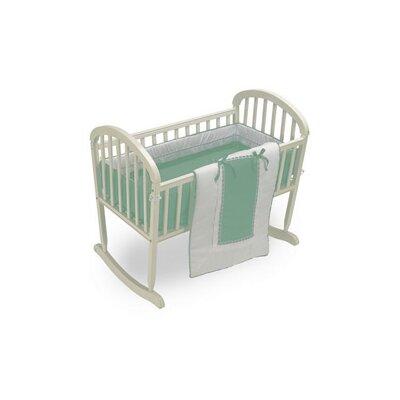 """Duron Cradle Bedding Set Color: Mint, Size: 15"""" W x 33"""" L"""