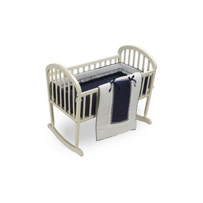 """Duron Cradle Bedding Set Color: Navy, Size: 15"""" W x 33"""" L"""