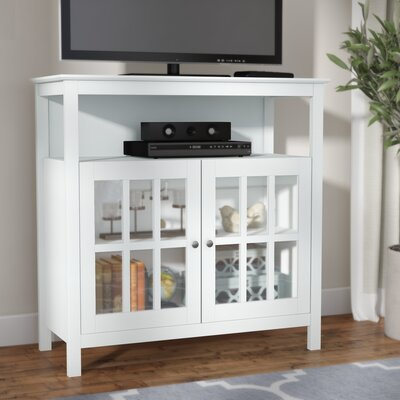 """Tiana 36"""" TV Stand Color: White"""