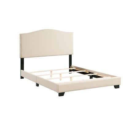 Gene Panel Bed Size: Full, Bed Frame Color: Tan
