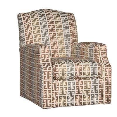 Difranco Swivel Glider Upholstery: Phena Bronze Striped
