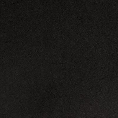 "Gary 27"" Bar Stool Color: Black, Upholstery: Black"