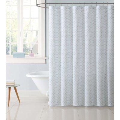 Duell Kids Dot Shower Curtain Color: Aqua