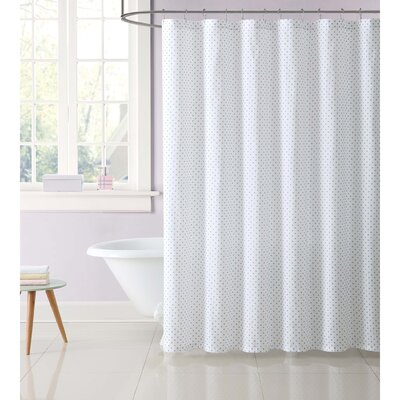 Duell Kids Dot Shower Curtain Color: Gray