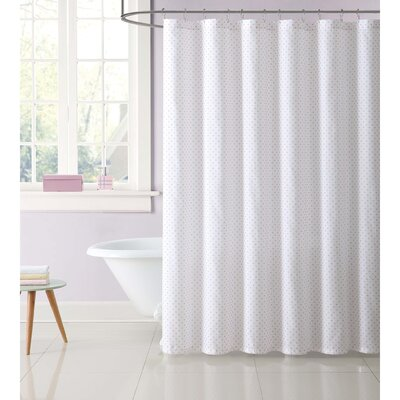 Duell Kids Dot Shower Curtain Color: Pink