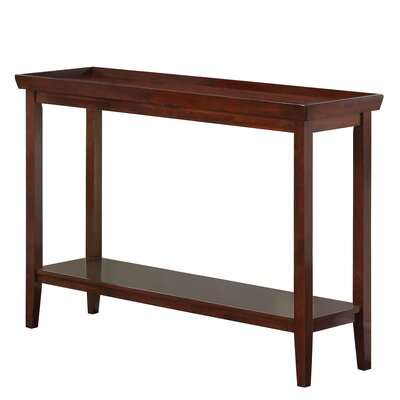 Wallenstein Console Table Color: Espresso