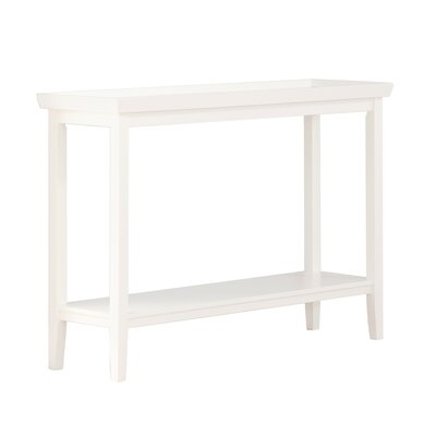 Wallenstein Console Table Color: White
