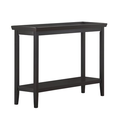 Wallenstein Console Table Color: Black