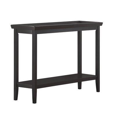 Wallenstein Console Table Color: Black