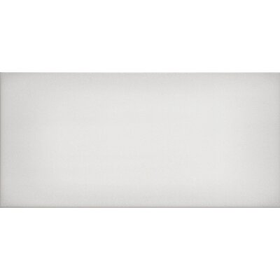 "Ombre 6"" x 12"" Ceramic Subway Tile in Glossy White"