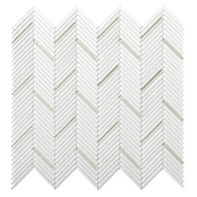 "Pivot 1"" x 1"" Glass Mosaic Tile in Bend"