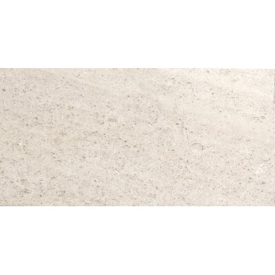 "Presidio 12"" x 24"" Limestone Field Tile in Ivory"