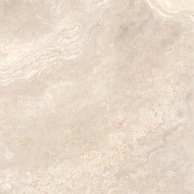 "Quest Polished 32"" x 32"" Porcelain Field Tile in Ivory"