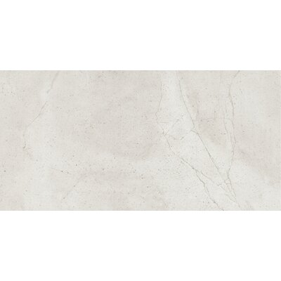 "Quest Matte 12"" x 24"" Porcelain Field Tile in Silver"