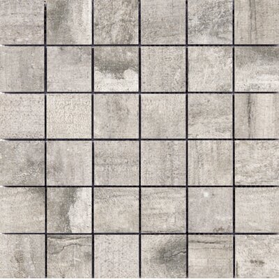 "Ranch 2"" x 2"" Porcelain Mosaic Tile in Land"