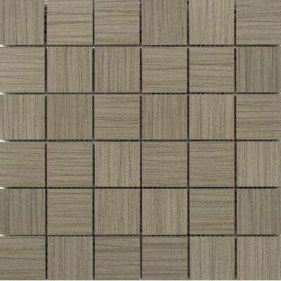 "Thread 2"" x 2"" Porcelain Mosaic Tile in Olive"