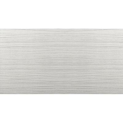 "Thread 12"" x 24"" Porcelain Field Tile in Silver"