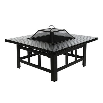 Steel Charcoal Fire Pit Table