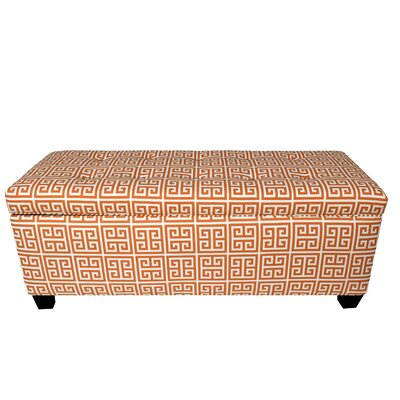 Kleist Button Tufted Upholstered Storage Bench