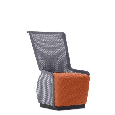 Guyette Mesh Lounge Chair Seat Color: Orange