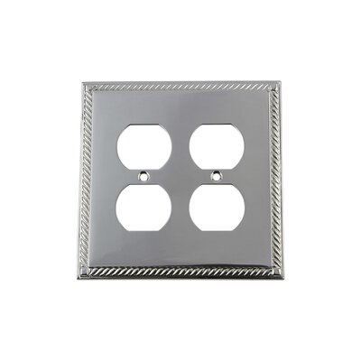 Rope Light Switch Plate Finish: Bright Chrome