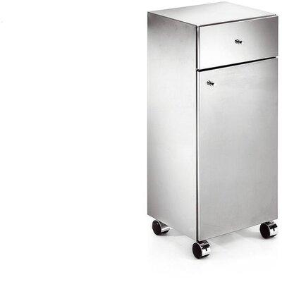 Sison Runner Standing Steel Mobile Wheel Storage Cabinet