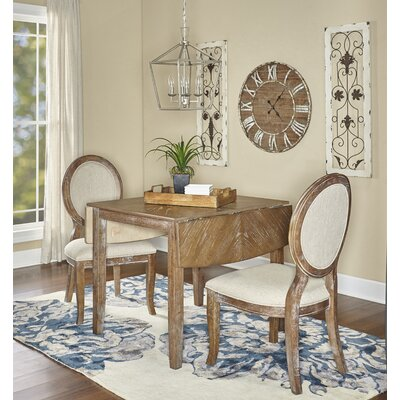 Braun 3 Piece Drop Leaf Dining Set