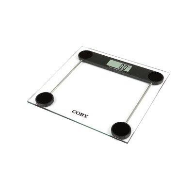Compact Digital Bathroom Scale