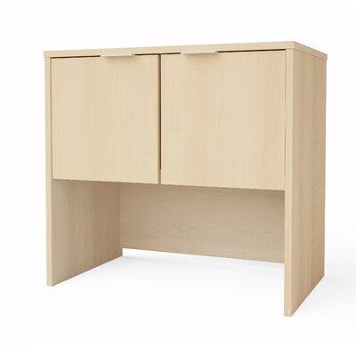 "Prattsburgh 28.3"" H x 30.1"" W Desk Hutch Finish: Northern Maple"