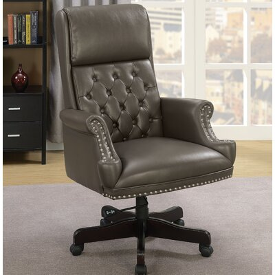 Drumlee Office Chair Color: Gray