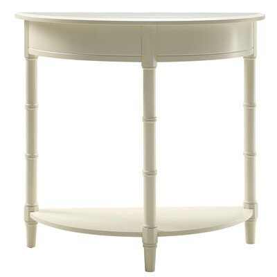 Claudio Allie Console Table Color: White