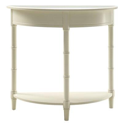 Claudio Allie Console Table Color: White