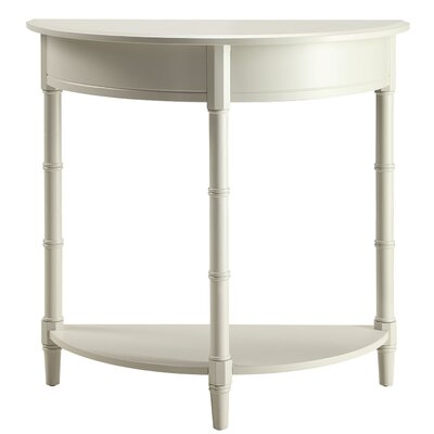 Claudio Allie Console Table Color: Gray