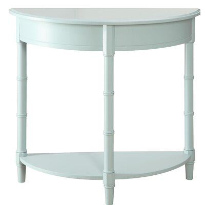 Claudio Allie Console Table Color: Blue