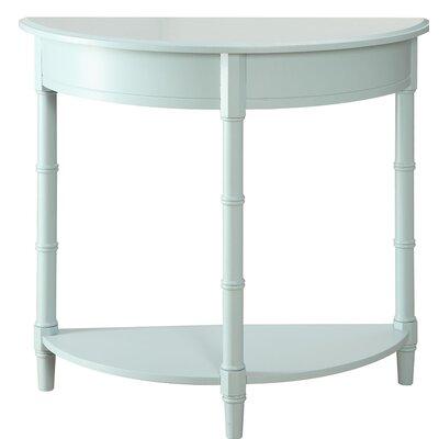 Claudio Allie Console Table Color: Blue