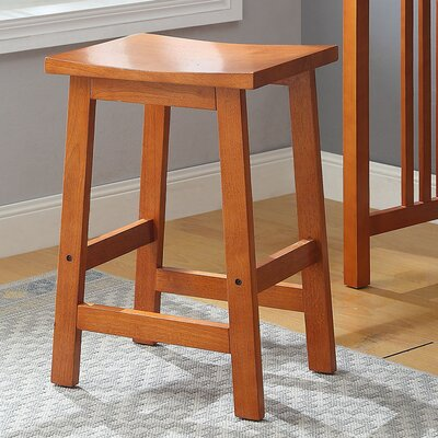 Morais Accent Stool Color: Oak