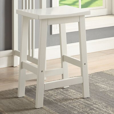 Morais Accent Stool Color: White