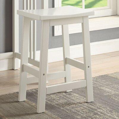 Morais Accent Stool Color: White