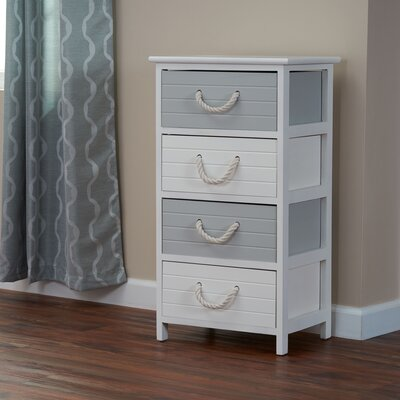 Couture 4 Drawer Accent Chest