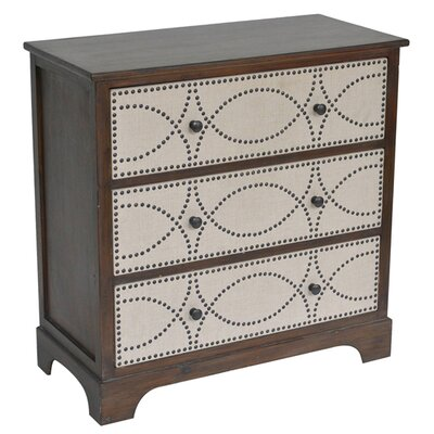 Elzy 3 Drawer Accent Chest
