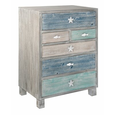 Harrigan Nautical 6 Drawer Accent Chest