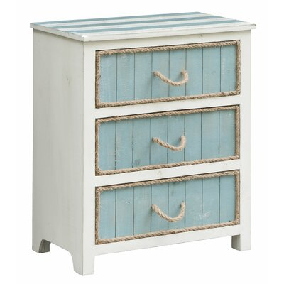 Harrill 3 Drawer Accent Chest