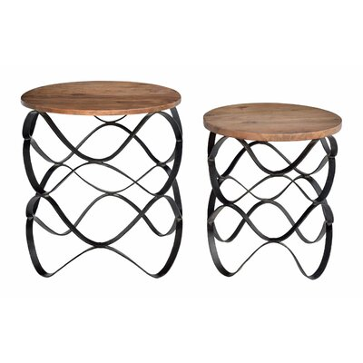 Hyatt 2 Piece Nesting Plant Table Set
