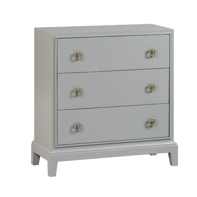 Vicky 3 Drawer Accent Chest