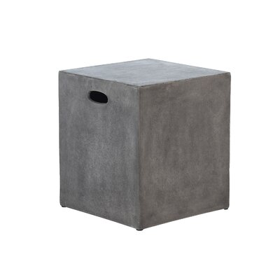 Colegrove Modular Cube Accent Stool with Handle