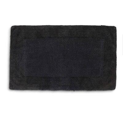 "Lankford Extra Plush Bath Rug Size: 21"" W x 34"" L, Color: Coal"