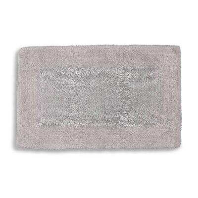 "Lankford Extra Plush Bath Rug Size: 21"" W x 34"" L, Color: Dolphin Gray"