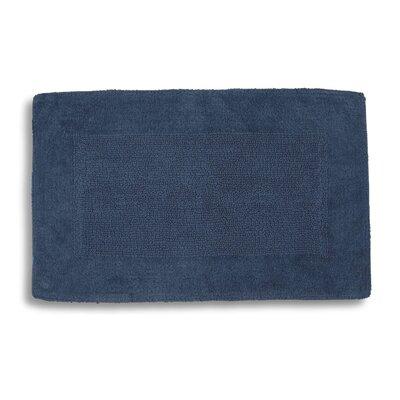 "Lankford Extra Plush Bath Rug Size: 21"" W x 34"" L, Color: Ink Blue"
